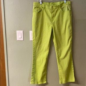 DG2 Lime Green Stretch Jeans